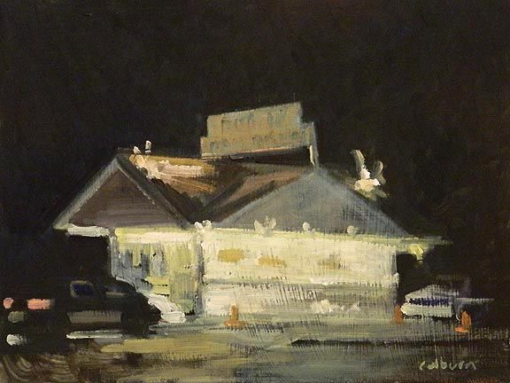 Dorman's Dairy Dream, as captured by artist Robert Colburn.