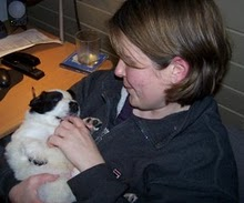 Me with Killian, at 4 weeks
